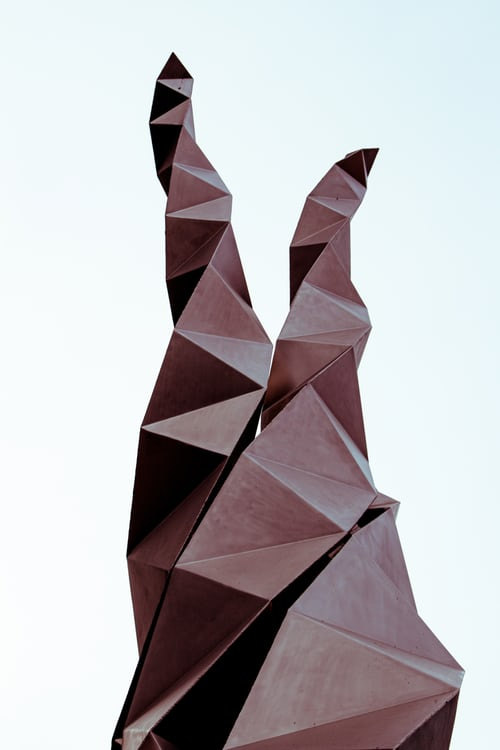 Papercraft – A Modern Art Design Sculpture